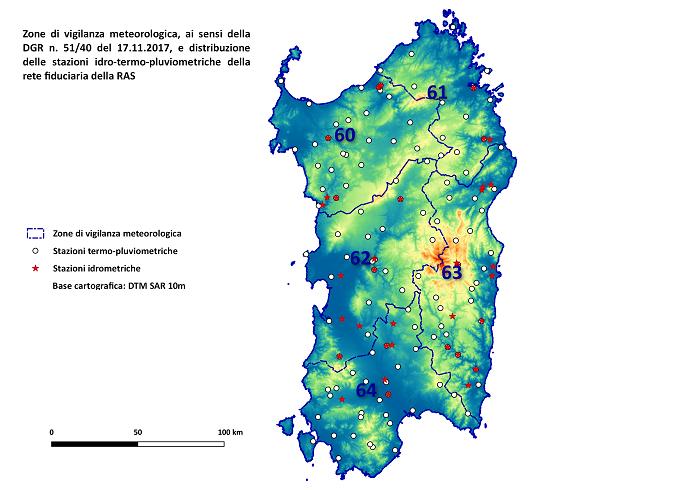 Cartina Sardegna 2017.Sardegnaprotezionecivile Centro Funzionale Decentrato Cfd Documenti Prodotti