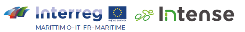 logo INTERREG MARITTIMO IT-FR INTENSE
